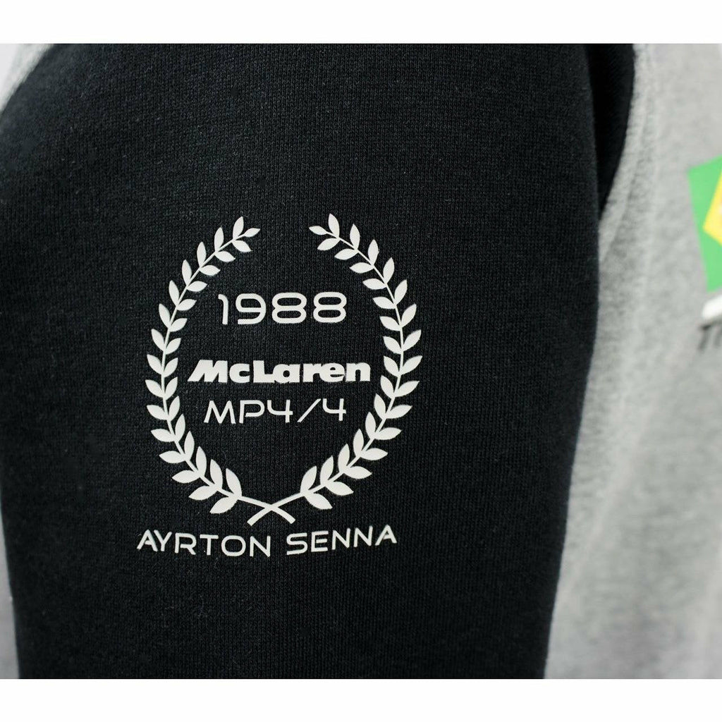 Ayrton Senna Authentic Sweatshirt Mclaren World Champion 1988