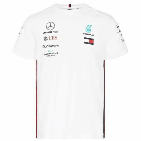 Mercedes-AMG Petronas Motorsport 2019 F1 Team T-Shirt White