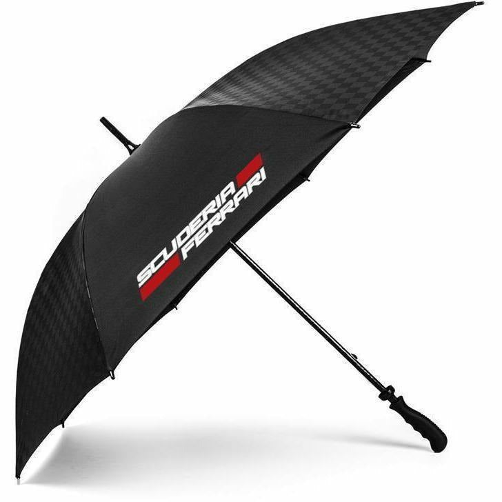 Scuderia Ferrari Formula 1 Authentic 2018 Black Large Umbrella