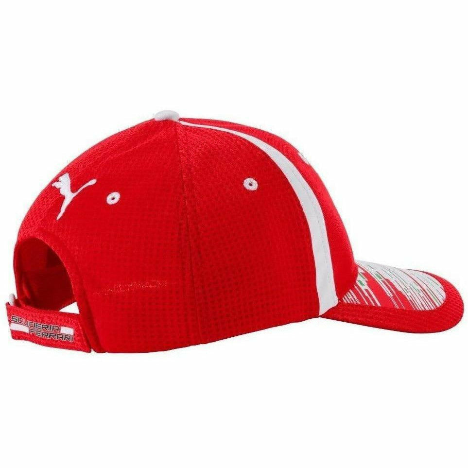 Scuderia Ferrari 2018 Formula 1 Authentic Sebastian Vettel Red Hat