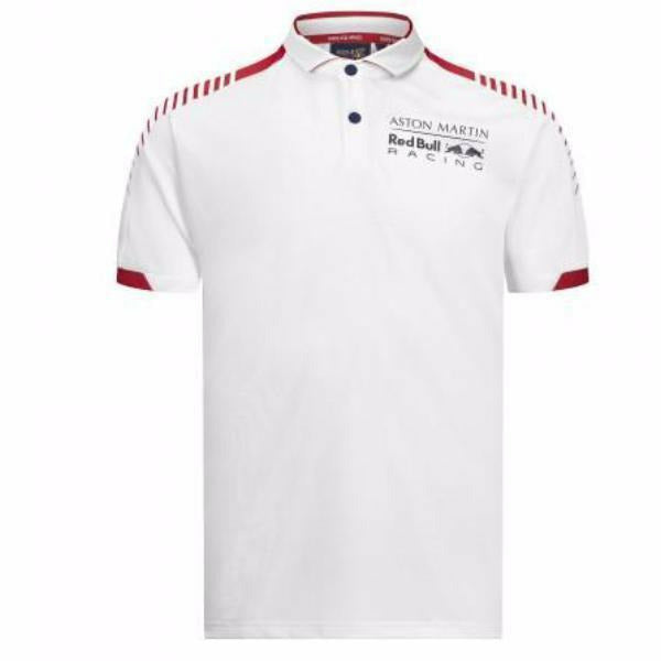Red Bull Racing Men's F1 Accelerate White Polo Shirt
