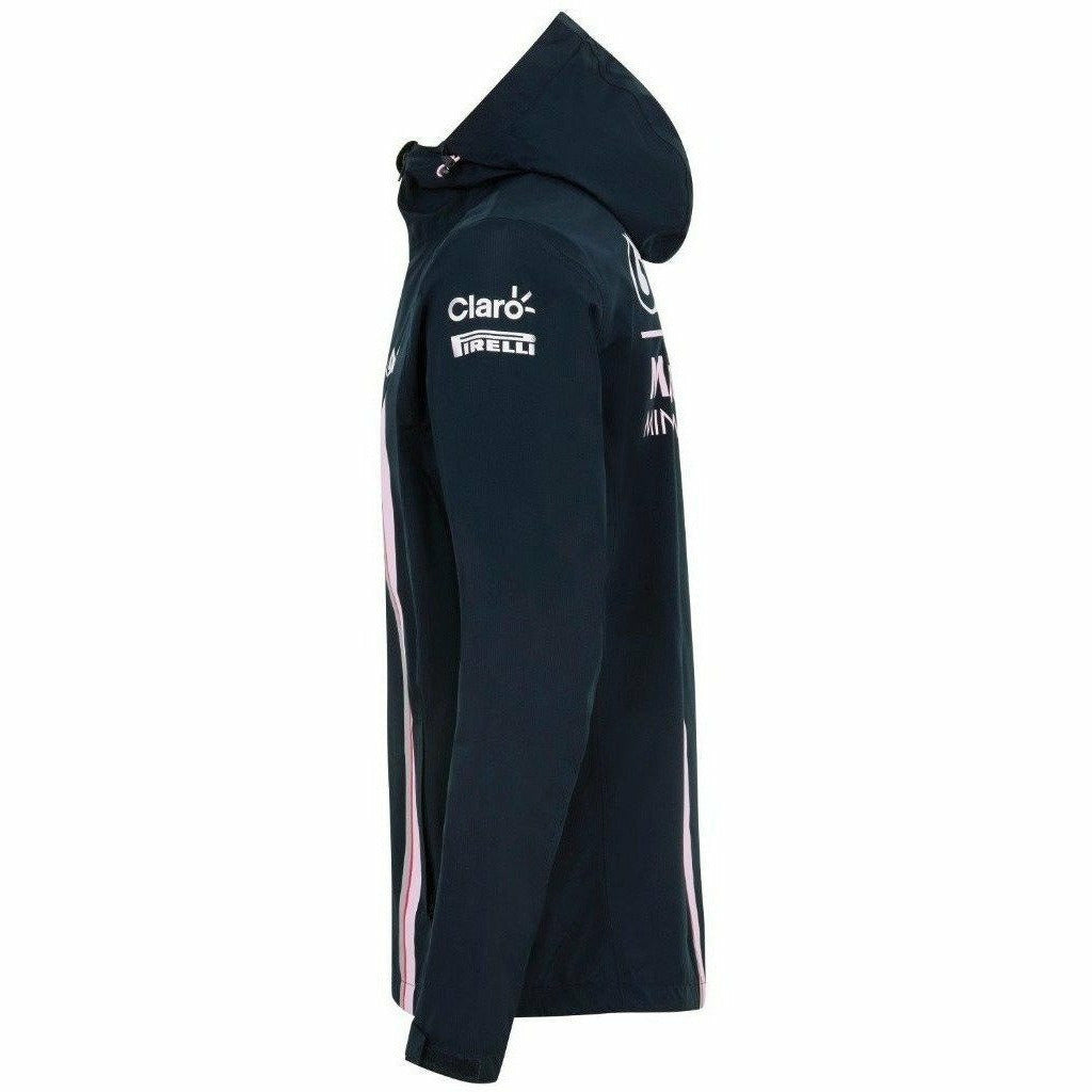 Sahara Force India Formula 1 Authentic Men's 2018 Blue Rain Jacket