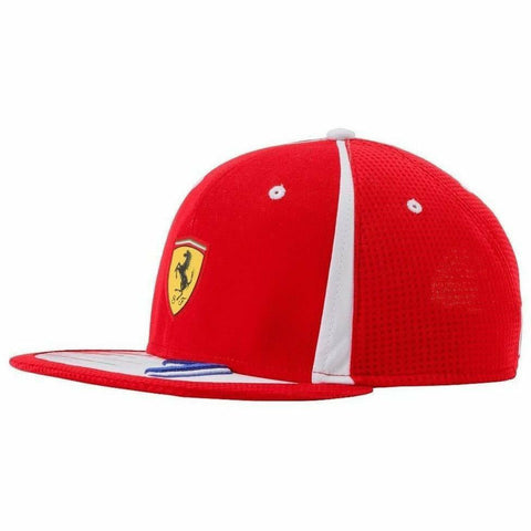 Scuderia Ferrari Red Kimi Raikkonen 2018 Formula 1 Authentic Red Flatbrim Hat