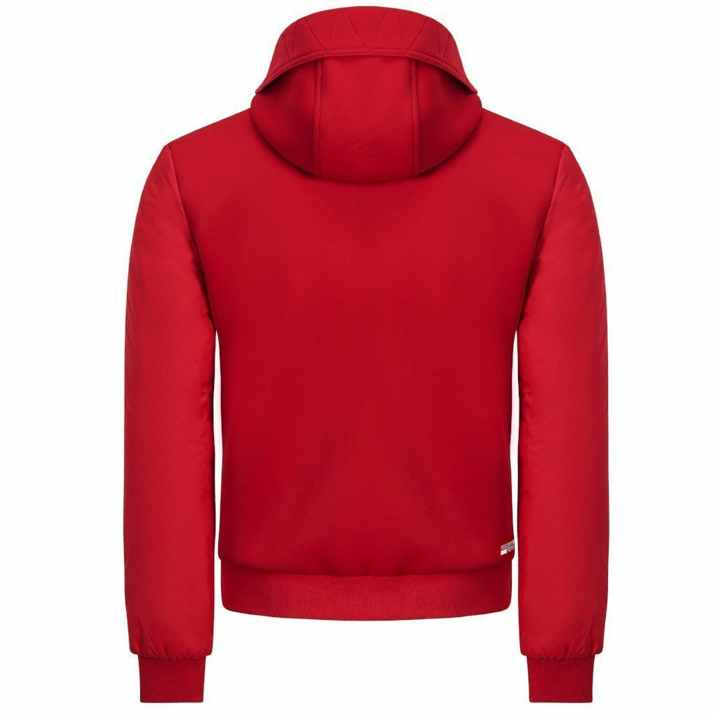 Scuderia Ferrari F1 Men's Hooded Bomber Jacket Red