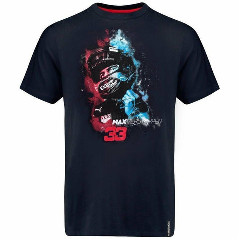 Red Bull Racing Aston Martin Kids Blue Max Verstappen Vapor T-Shirt
