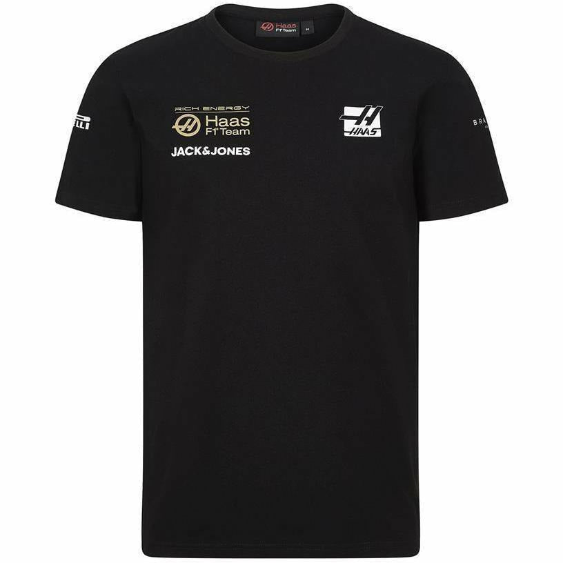 Rich Energy Haas 2019 F1 Team T-Shirt Black