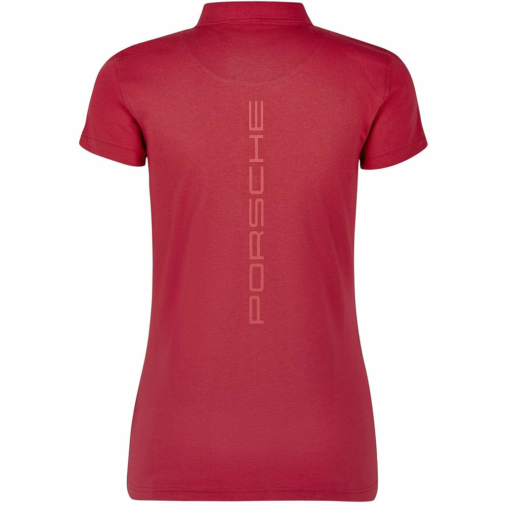 Porsche Motorsport Women's Red Polo