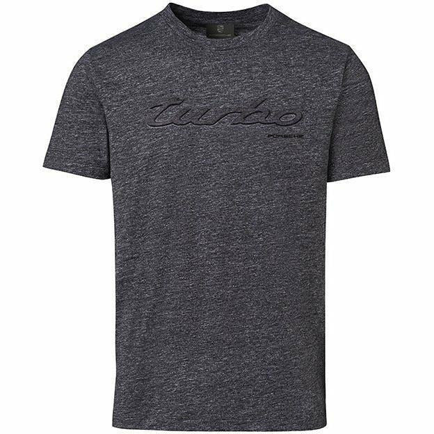 "Porsche Men's Gray ""Turbo"" T-Shirt"