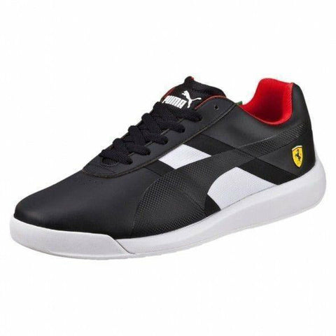 Scuderia Ferrari Puma Podio Tech Black Trainer Sneakers