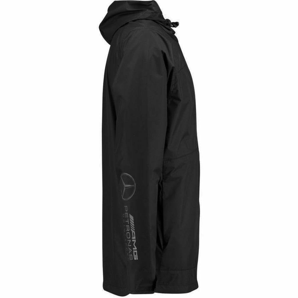 Mercedes Benz AMG Petronas Formula 1 Mens Black MAMGP Softshell Jacket