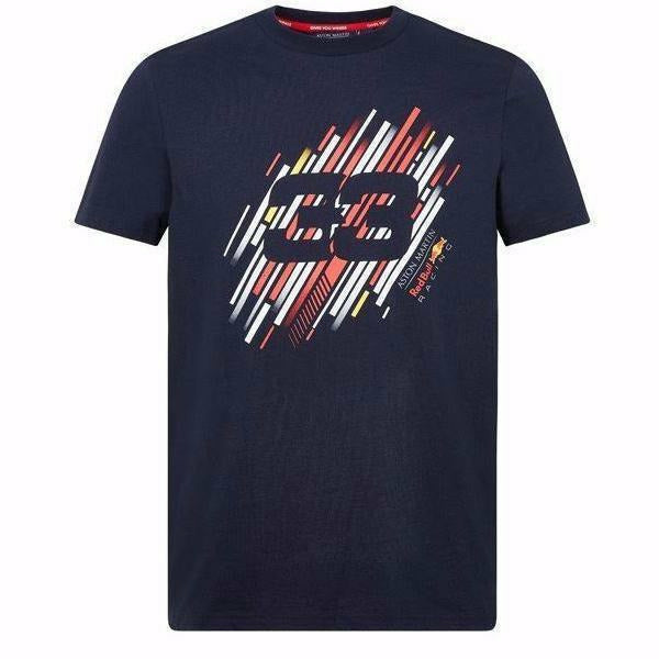 Red Bull Racing F1 Max Verstappen Number T-Shirt Blue