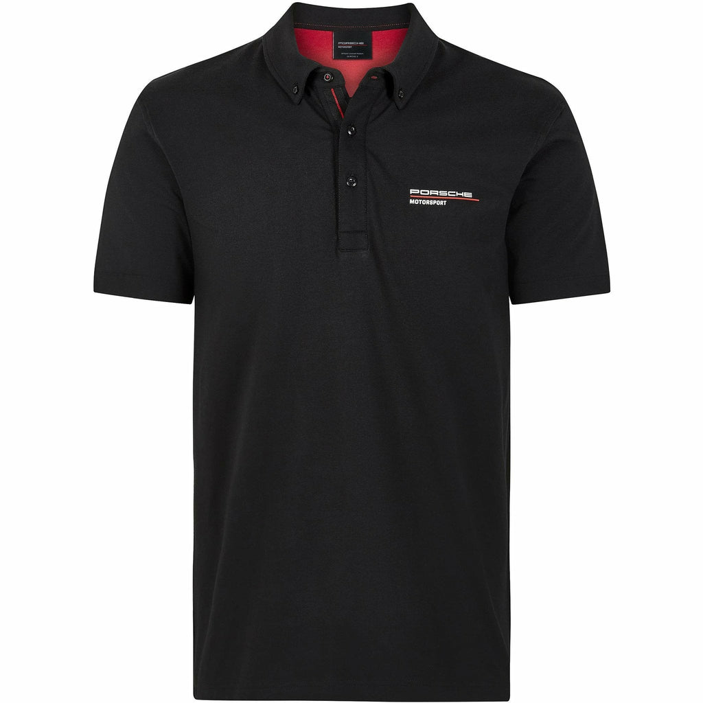 Porsche Motorsport Black Polo Shirt