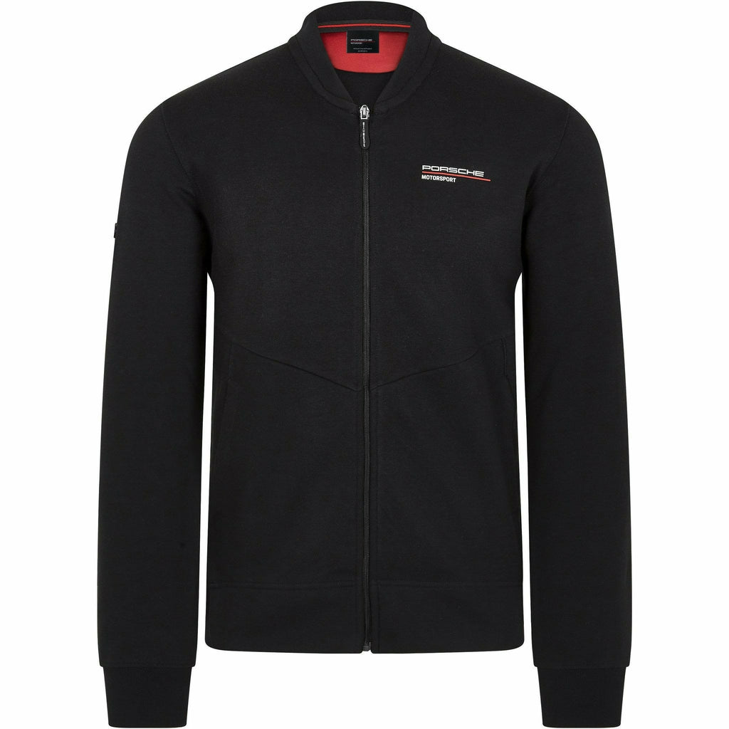 Porsche Motorsport Men's Black Zip Sweatshirt