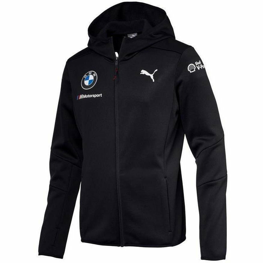 BMW Motorsports Dark Anthracite Gray 2018 Men's Midlayer Jacket