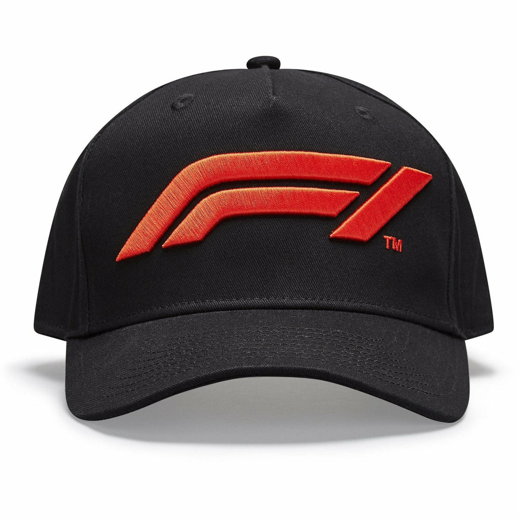 Formula 1 Tech Collection F1 Kids Large Logo Baseball Hat Black