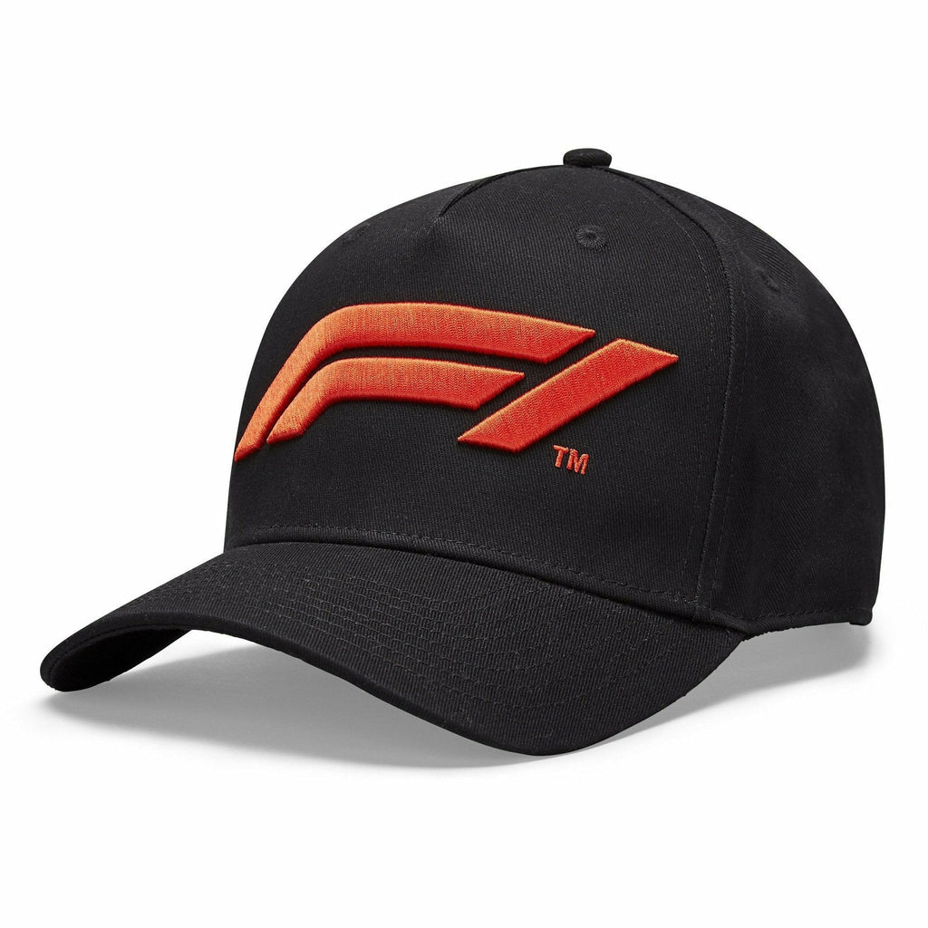 Formula 1 Tech Collection F1 Large Logo Baseball Hat Black/White/Red