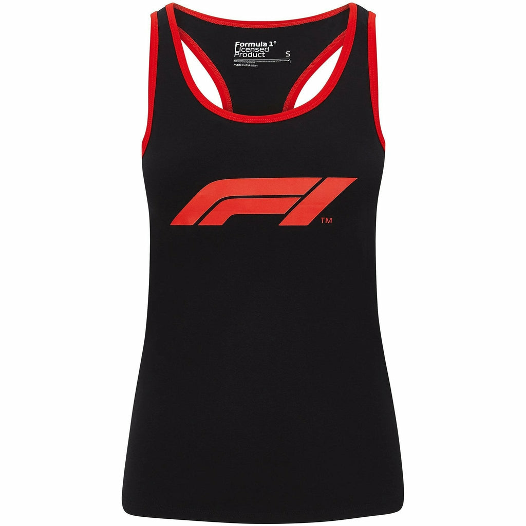 Formula 1 Tech Collection F1 Women's Large Logo Tank Top Black