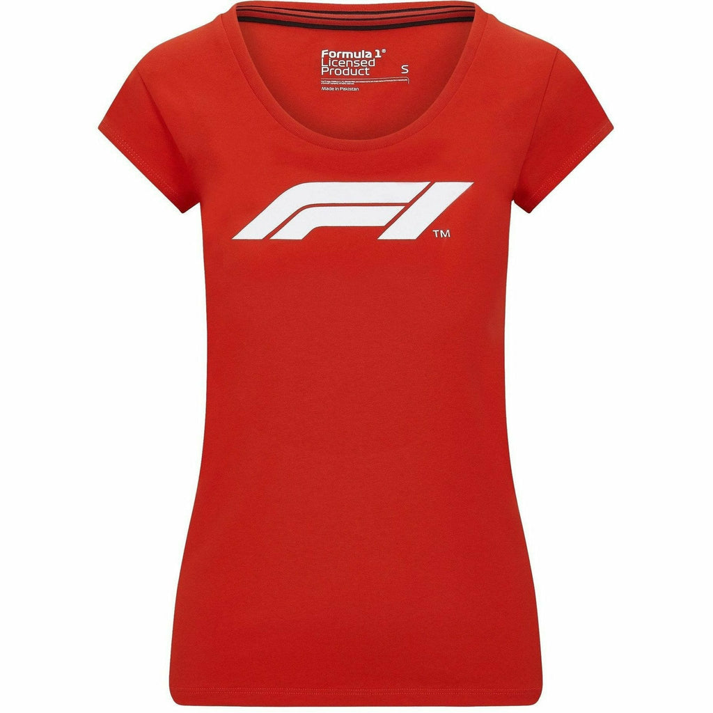 Formula 1 Tech Collection F1 Women's Large Logo T-Shirt White/Red