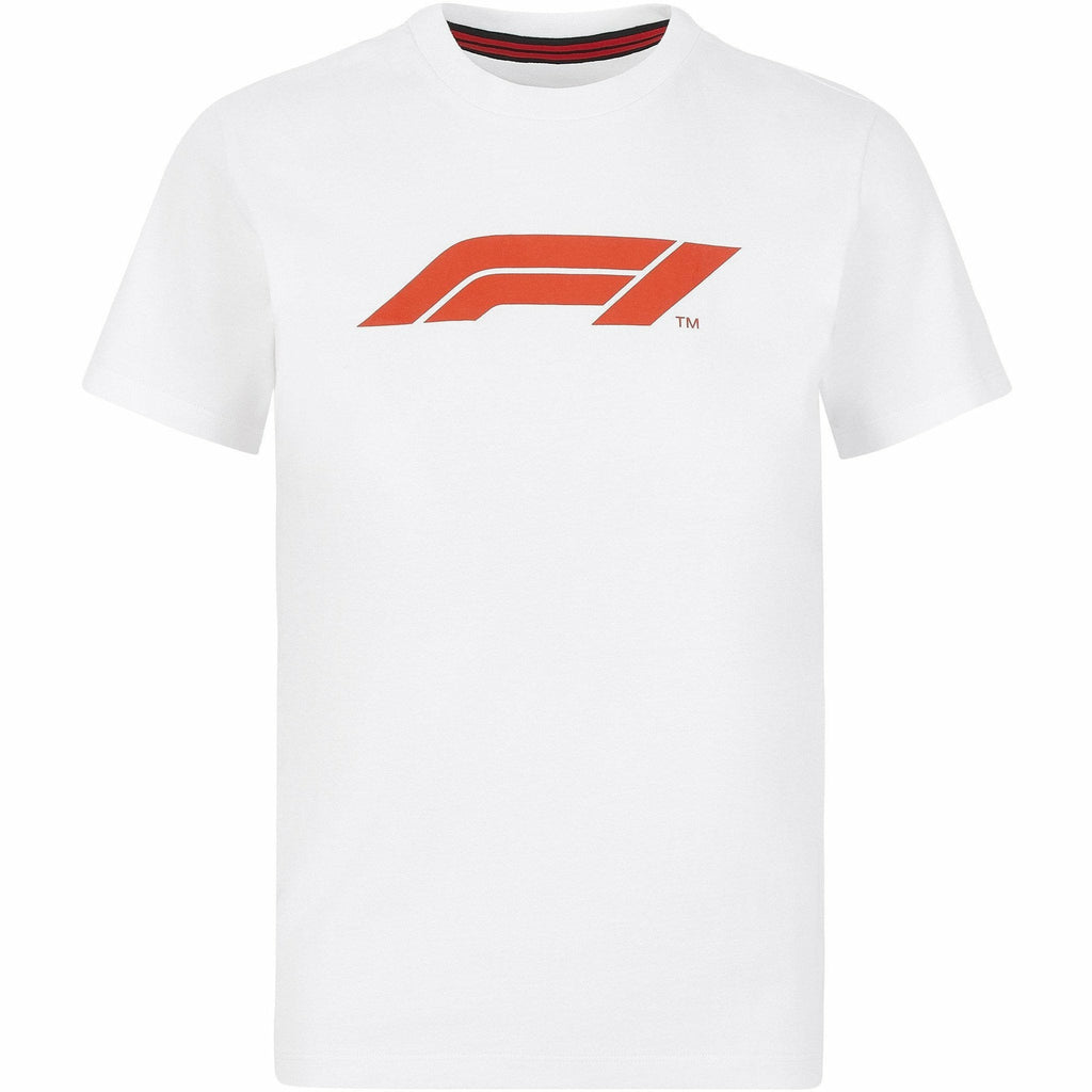 Formula 1 Tech Collection F1 Kids Logo T-Shirt Black/White/Red