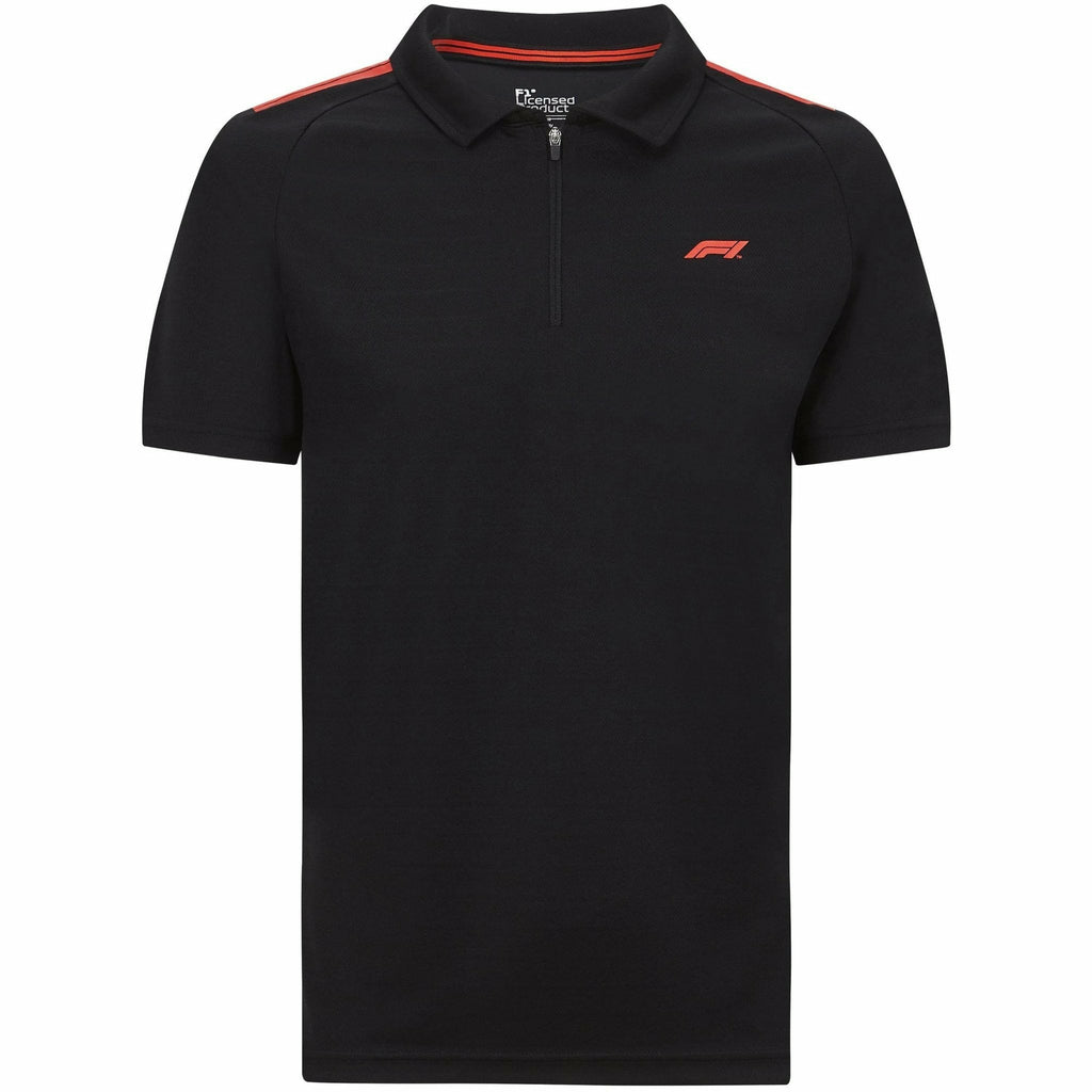 Formula 1 Tech Collection F1 Men's Polo Shirt Black