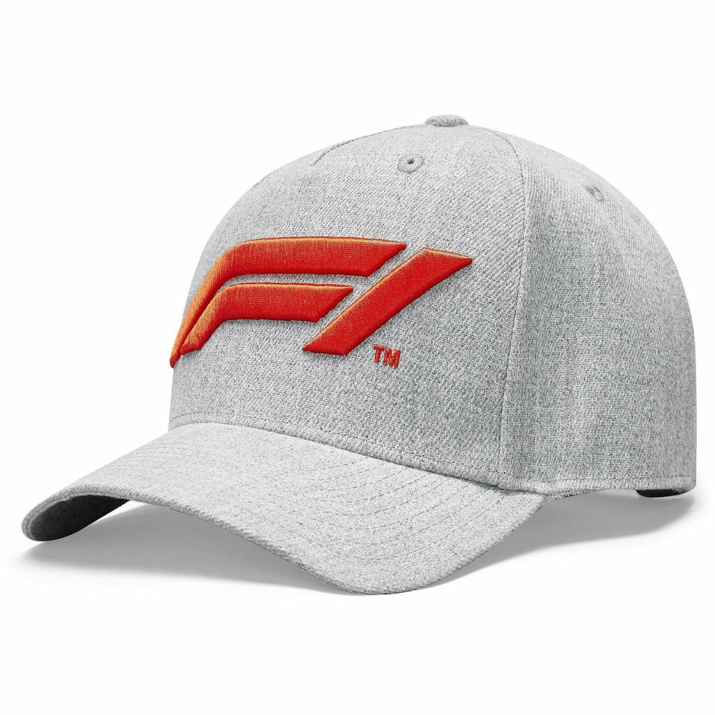 Formula 1 Tech Collection F1 Logo Hat Gray