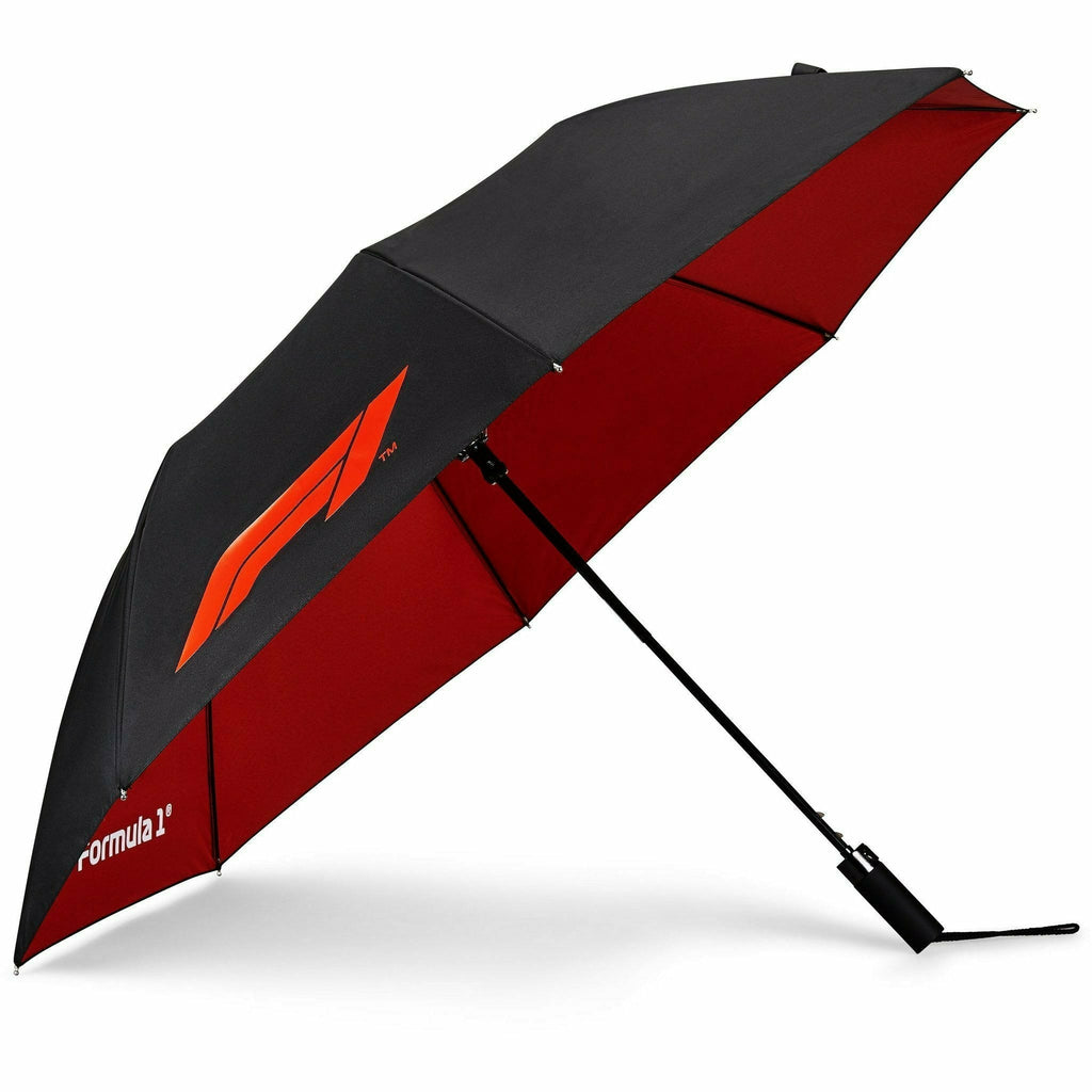 Formula 1 Tech Collection F1 Compact Umbrella Black