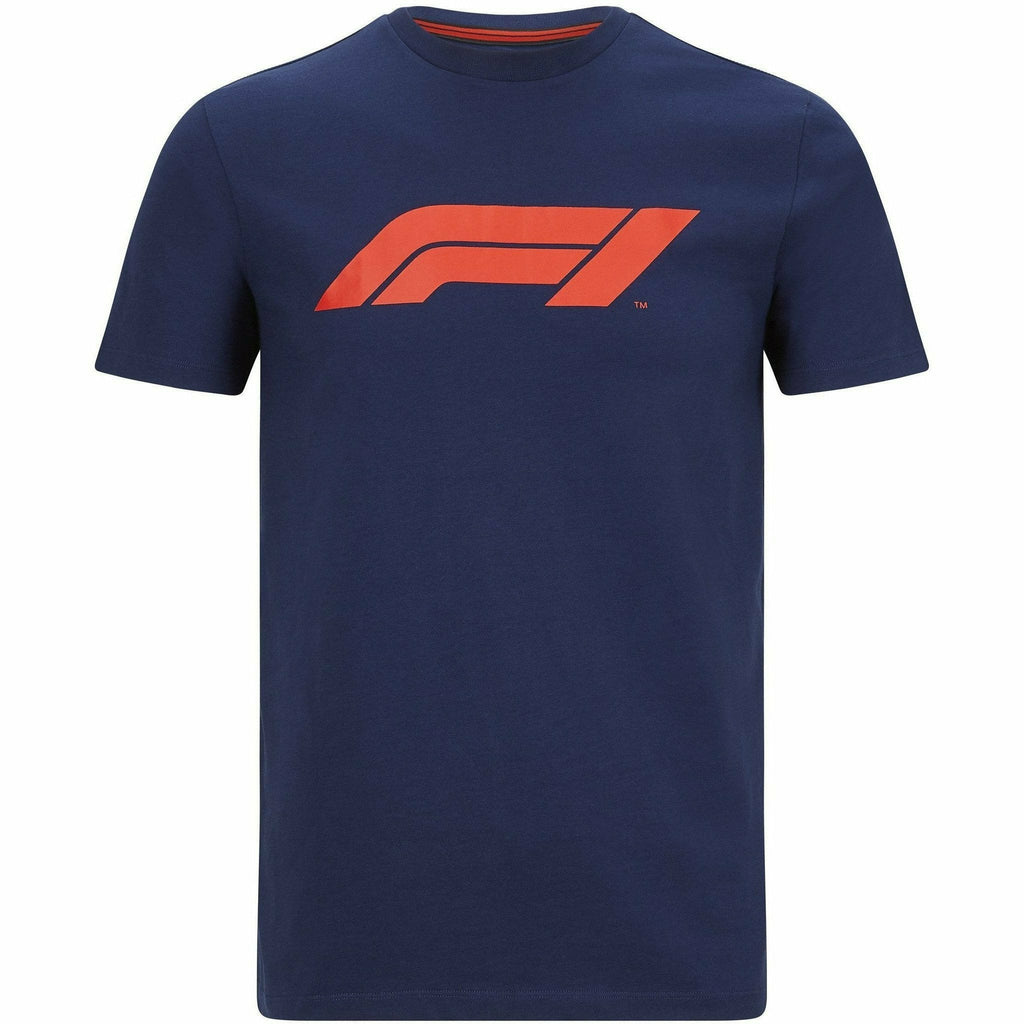 Formula 1 Tech Collection F1 Men's Large Logo T-Shirt Black/Gray/White/Navy/Red