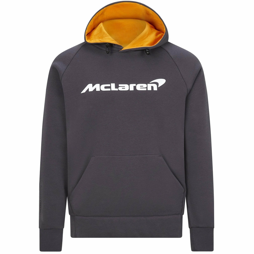 McLaren F1 Men's Essentials Sweatshirt Hoodie Anthracite