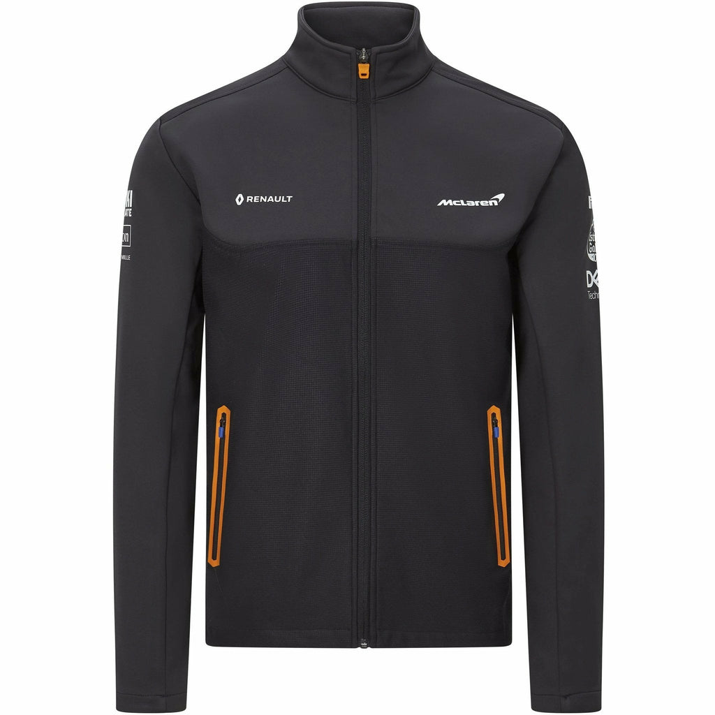 McLaren F1 Men's Team Softshell Jacket Anthracite
