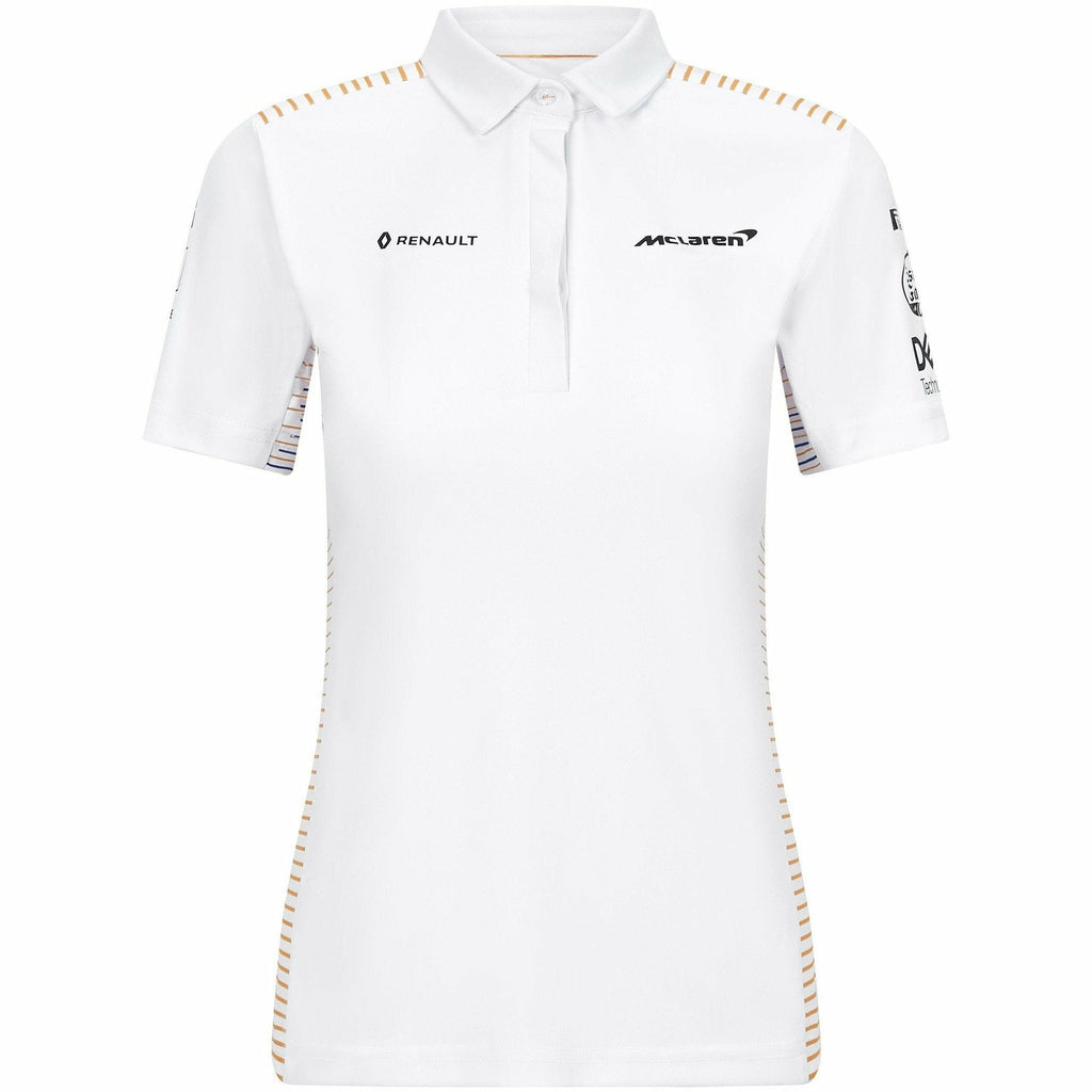 McLaren F1 2020 Women's Team Polo White