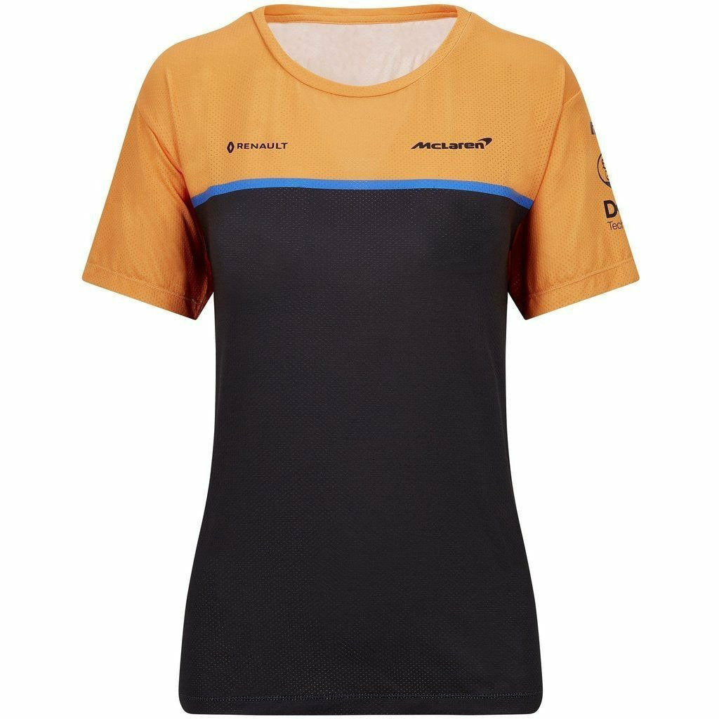 McLaren F1 2020 Women's Team Set Up T-Shirt Orange
