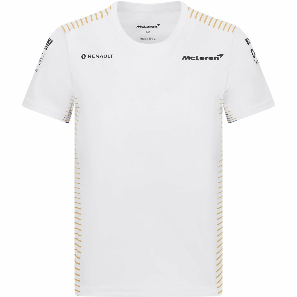 McLaren F1 2020 Kids Team T-Shirt White