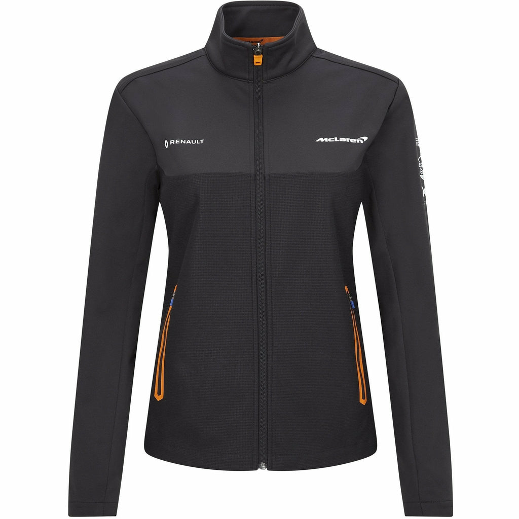 McLaren F1 2020 Women's Team Softshell Jacket Anthracite