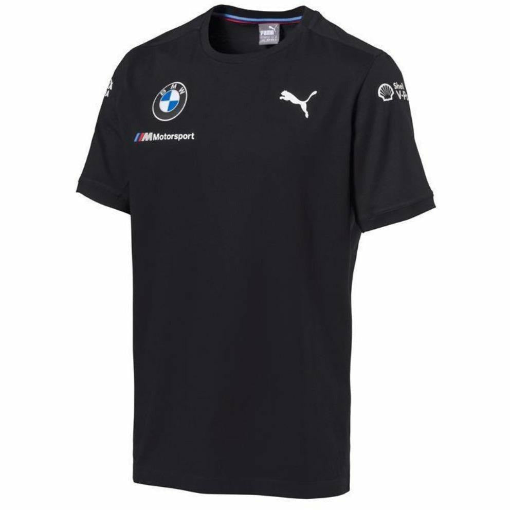 BMW Motorsports Dark Anthracite Gray 2018 Men's Team T-Shirt