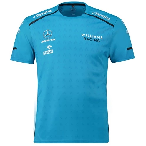 Williams Racing 2019 Men's Team T-Shirt Blue