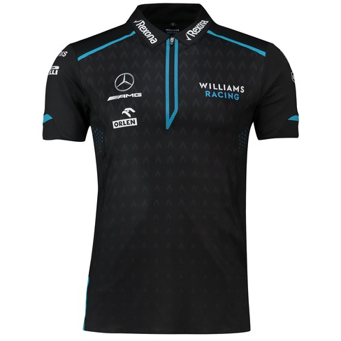 Williams Racing 2019 Men's Team Performance Polo Black