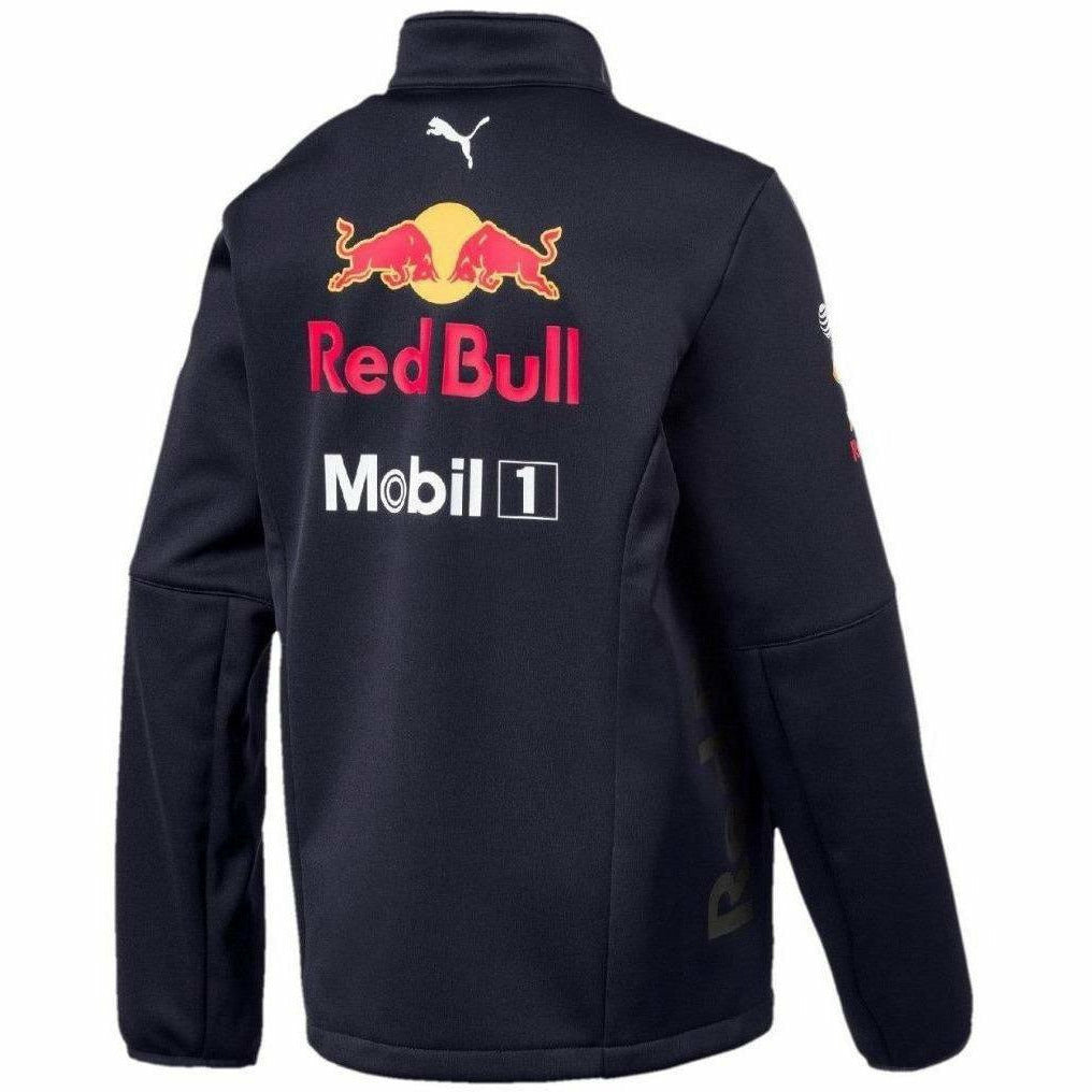 8e847641fa1 Red Bull Racing Formula 1 Aston Martin Kids 2018 Team Softshell Jacket F1