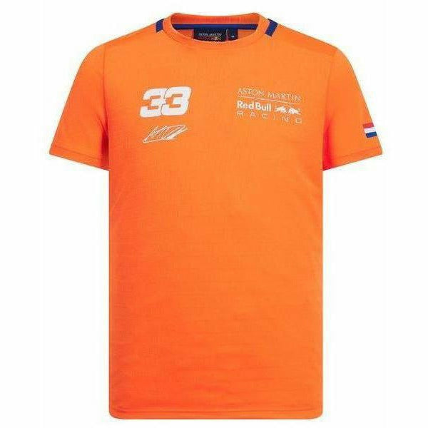 Red Bull Racing 2019 F1 Max Verstappen Orange 33 T-Shirt