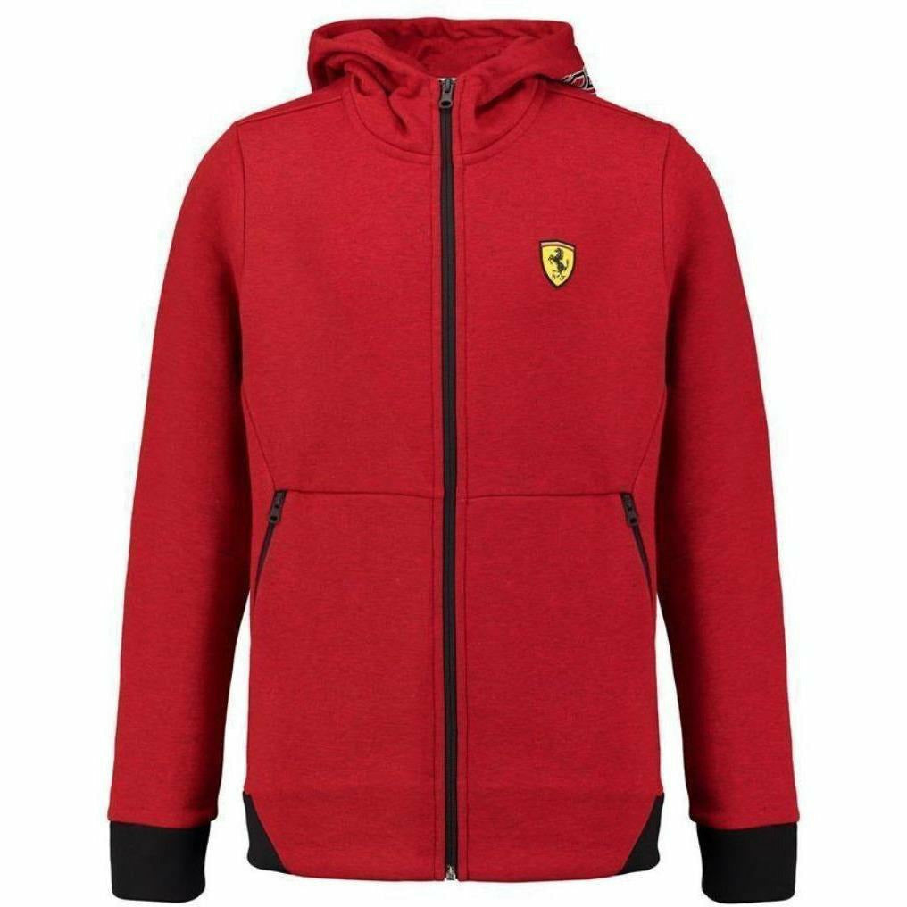 Scuderia Ferrari Formula 1 Kids 2018 Zip Up Red Hoodie
