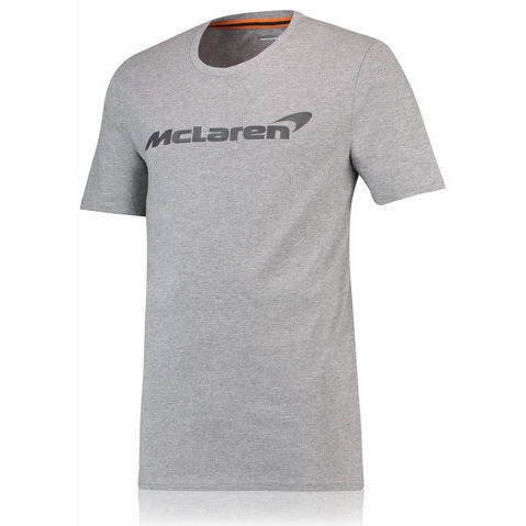 McLaren Renault Formula 1 Men's Essentials Gray T-Shirt
