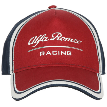Alfa Romeo Racing F1 2019 Kids Team Baseball Hat