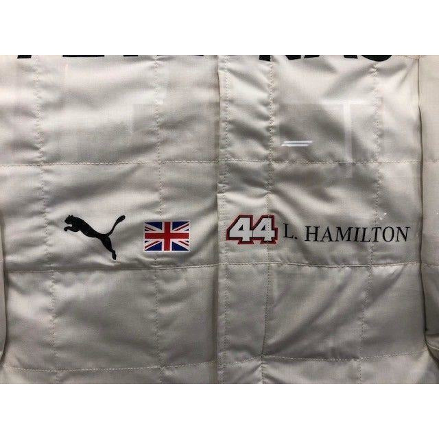 58913c97e6f Mercedes Benz AMG F1 Lewis Hamilton Framed 2018 Replica Signed Race Suit. Mercedes  Benz AMG F1 Lewis Hamilton Framed 2018 Replica Signed Race Suit