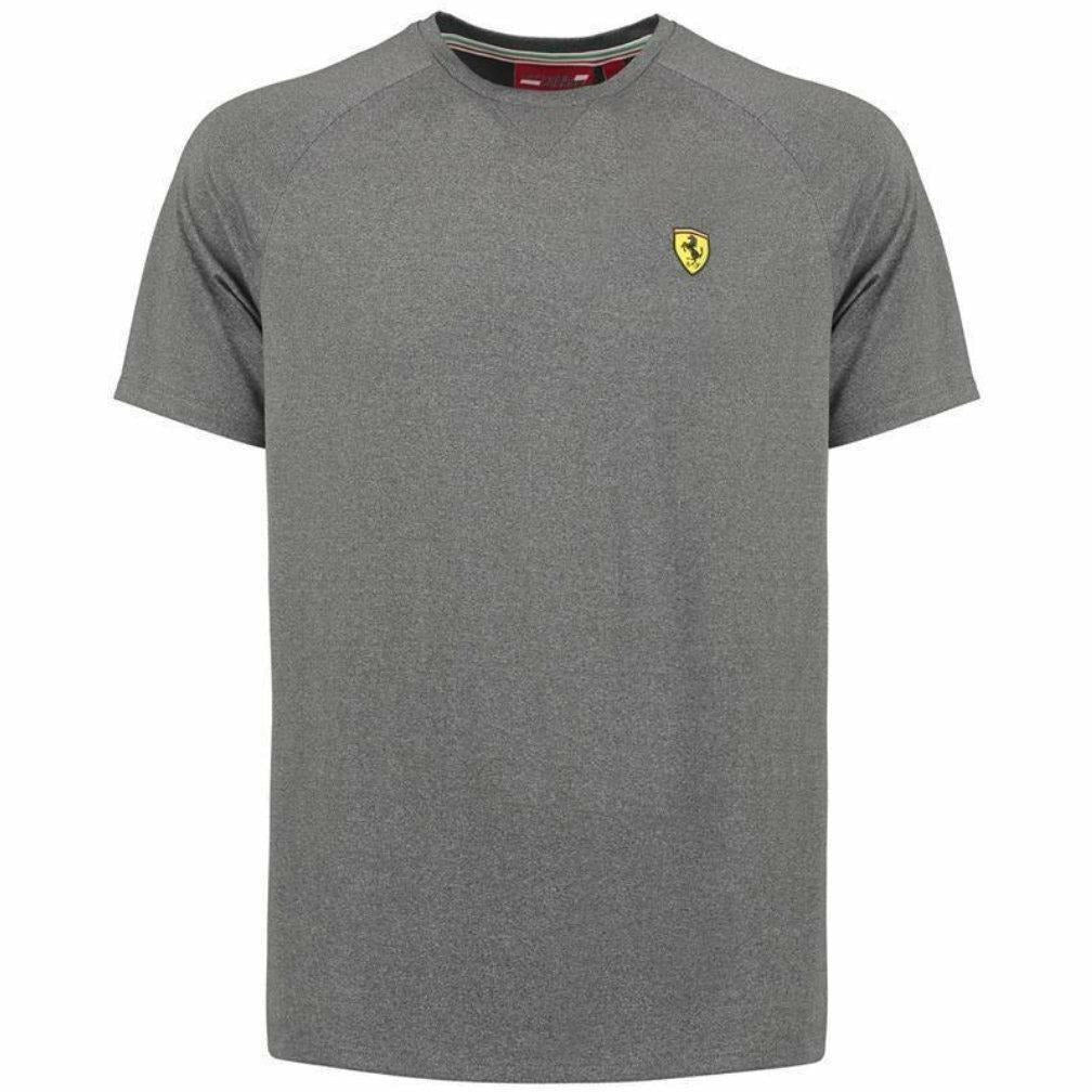 Scuderia Ferrari Formula 1 Men's 2018 Gray Short Sleeve Midlayer Shirt