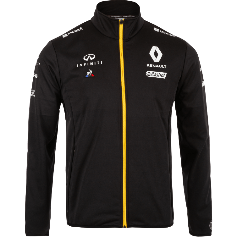 Renault F1 2019 Team Softshell Jacket Black