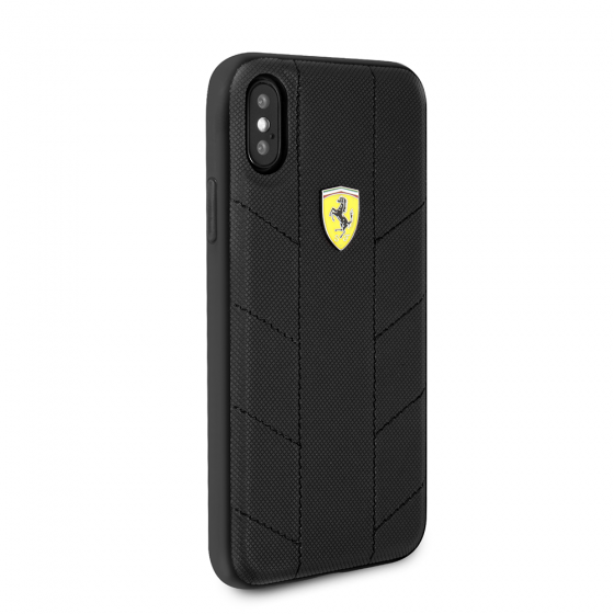 FERRARI IPHONE X URBAN COLLECTION PU LEATHER HARD CASE