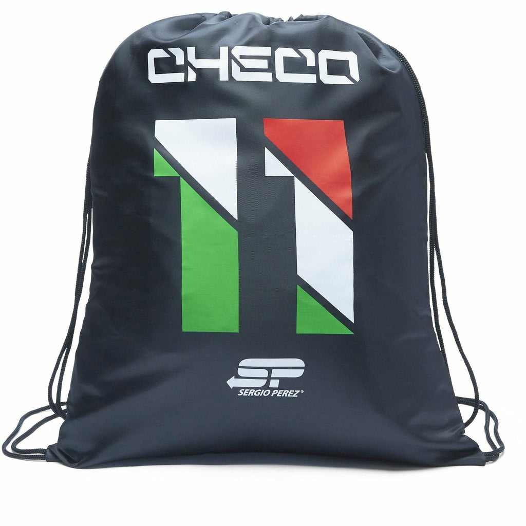 "Sahara Force India Formula 1 Sergio ""Checo"" Perez #11 Black Pullbag"