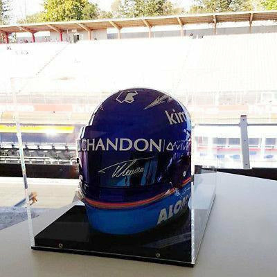 Fernando Alonso Formula 1 Signed Full -Scale Replica Helmet #13 of 14
