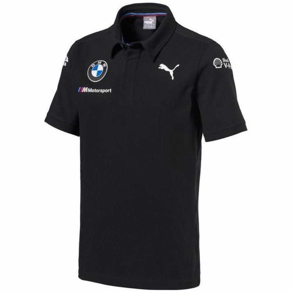 BMW Motorsports Dark Anthracite Gray 2018 Men's Team Polo Shirt