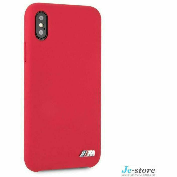 BMW Red Silicone Hard Case, iPhone XR