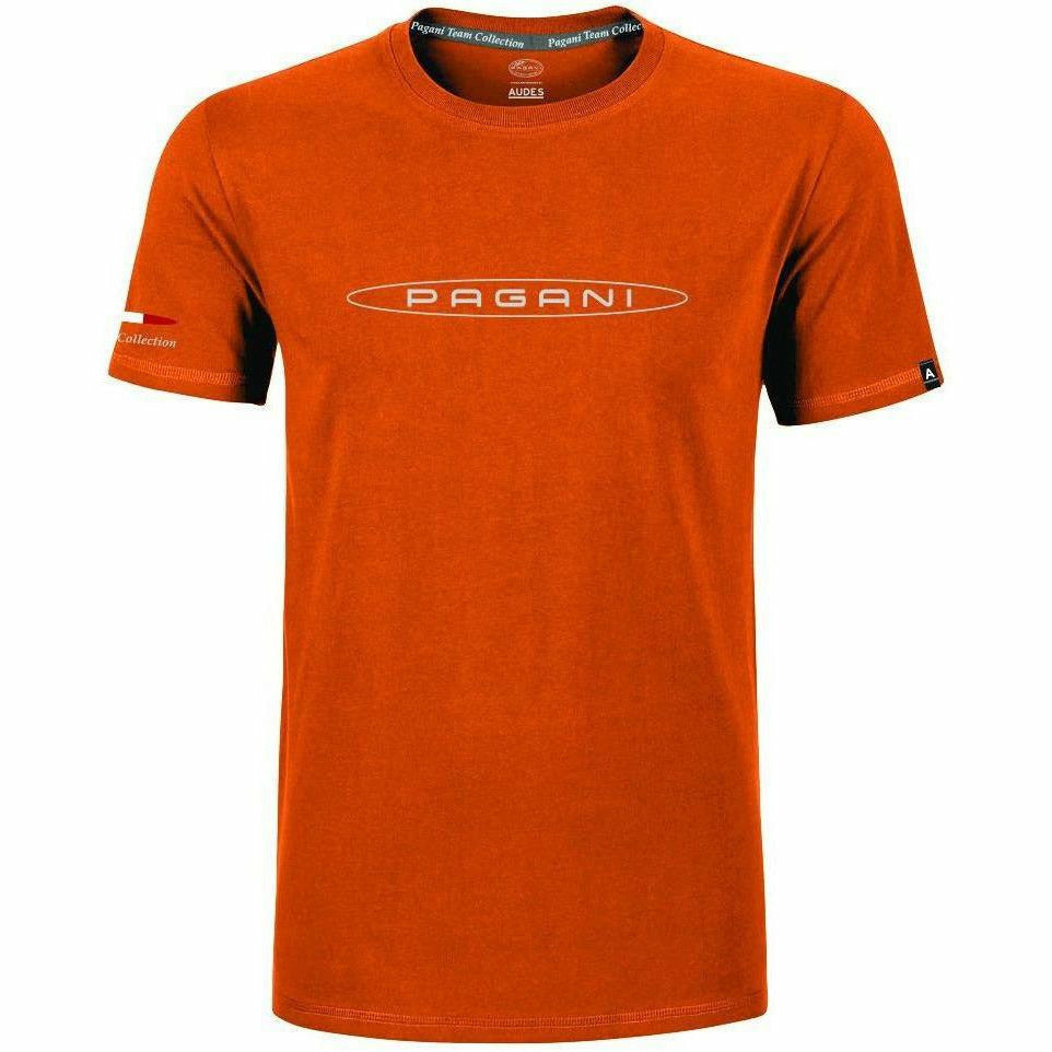 Pagani Automobili Men's T-Shirt Orange